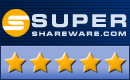 Received 5 Stars Rating at Super Shareware