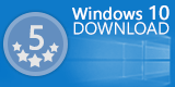 Windows 10 download 5 stars award